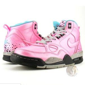 Nike Air Flight '13 Sneakers 616298-600 Pink, 8.5
